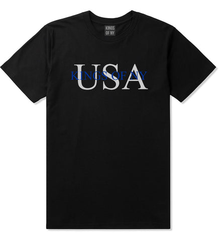USA Kony Logo T-Shirt in Black