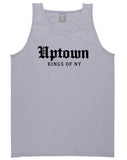 Uptown Old English Mens Tank Top Shirt Grey by Kings Of NY