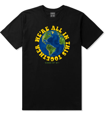 We're All In This Together Mens T-Shirt Black