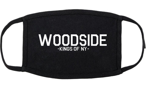 Woodside Queens New York Cotton Face Mask Black