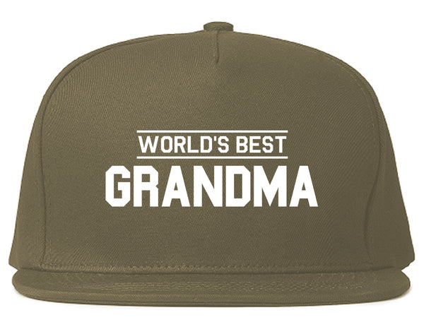 288892f06df Worlds Best Grandma Gift Mens Snapback Hat by Kings Of NY – KINGS OF NY