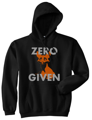Zero Fox Given Funny Pullover Hoodie