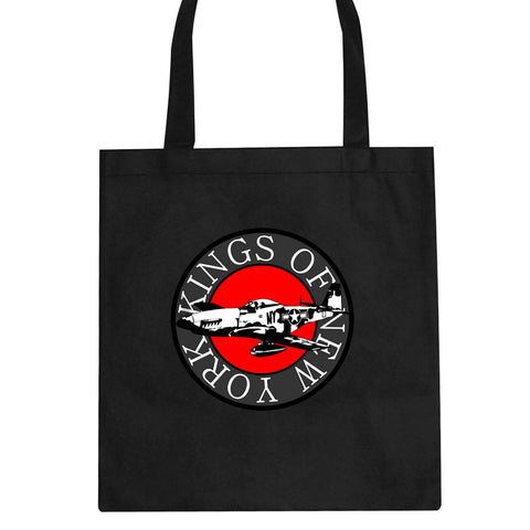 Airplane World War Tote Bag by Kings Of NY