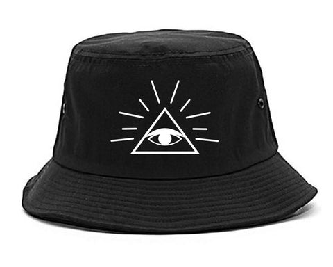 All Seeing Eye of Providence God Bucket Hat Cap
