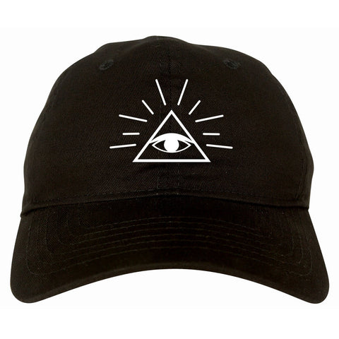 All Seeing Eye of Providence God Dad Hat Cap