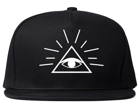 All Seeing Eye of Providence God snapback Hat Cap