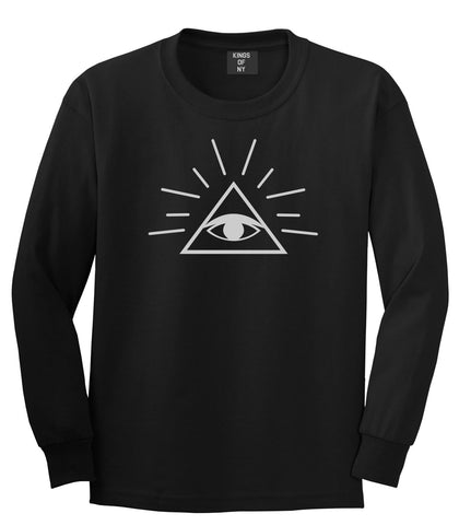 All Seeing Eye of Providence God Long Sleeve T-Shirt