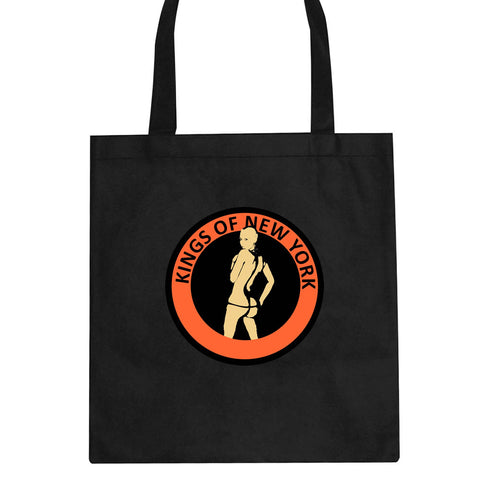 Amber Twerk Kings Of New York Logo Tote Bag By Kings Of NY