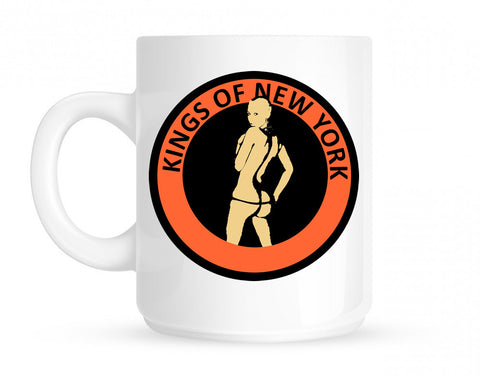 Amber Twerk Kings Of New York Logo Coffee Tea Mug By Kings Of NY