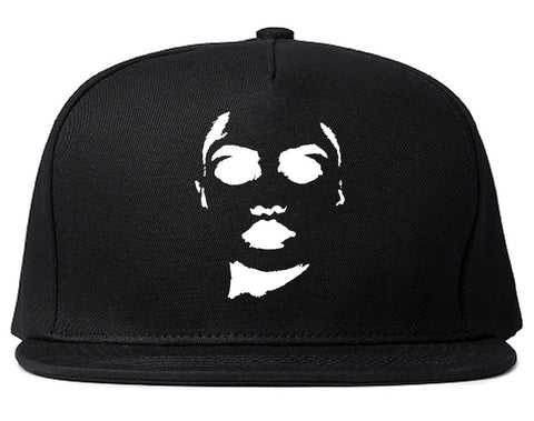 Amina Sexy Model Snapback Hat in Black By Kings Of NY