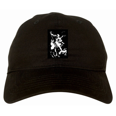 Angel Of Death Ancient Goth Myth Dad Hat in Black By Kings Of NY