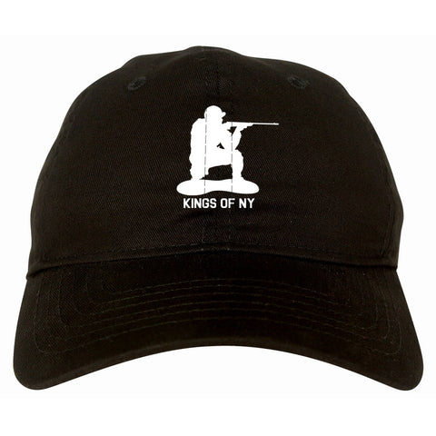 Kings Of NY Green Army Men Dad Hat Cap By Kings Of NY