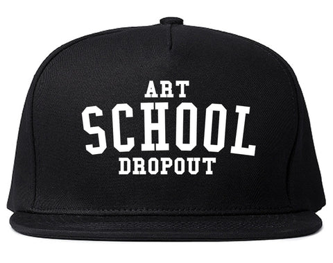 Art School Dropout College Fashion High Snapback Hat By Kings Of NY