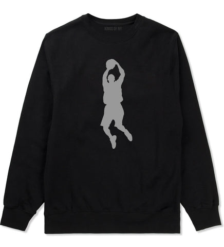 Basketball Shooter Crewneck Sweatshirt by Kings Of NY