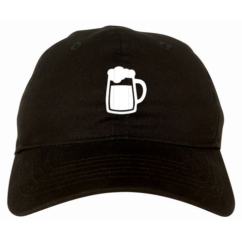 Cold Beer Mug Pint Tap Dad Hat Cap