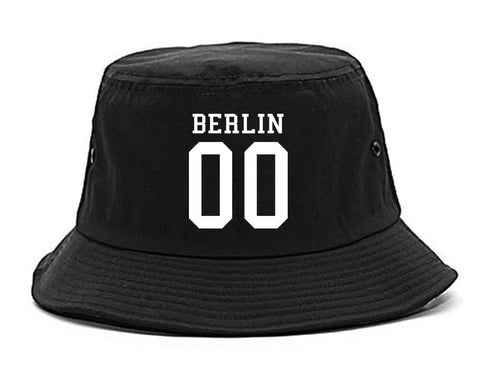 Berlin Team Jersey Germany Country Bucket Hat By Kings Of NY