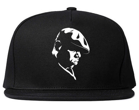 Biggie Silhouette Notorious BIG Snapback Hat by Kings Of NY