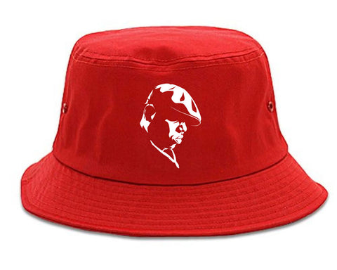 0f25bfa58520a Biggie Silhouette Notorious BIG Bucket Hat by Kings Of NY – KINGS OF NY