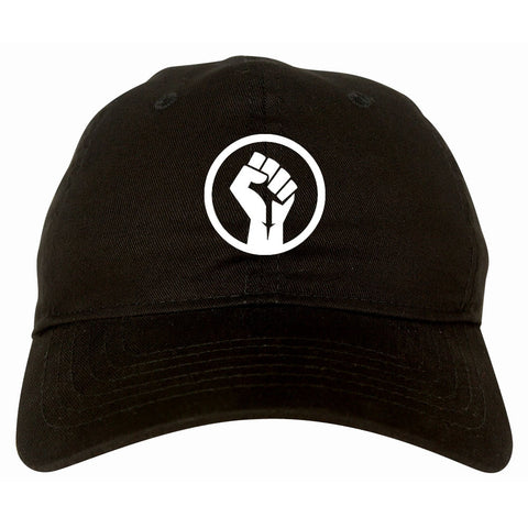 Black Power Fist Dad Hat Cap by Kings Of NY