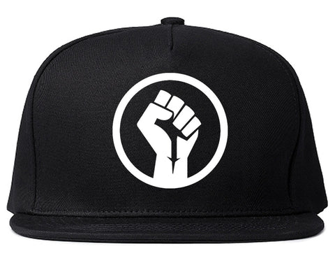 Black Power Fist Snapback Hat by Kings Of NY