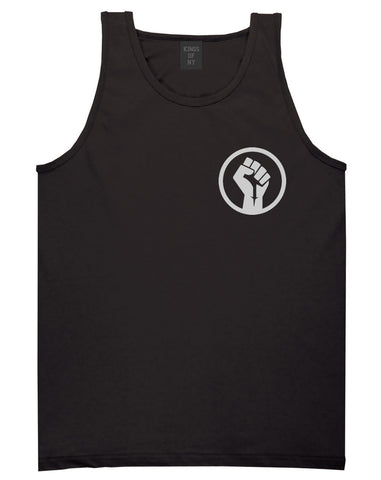 Black Power Fist Tank Top by Kings Of NY