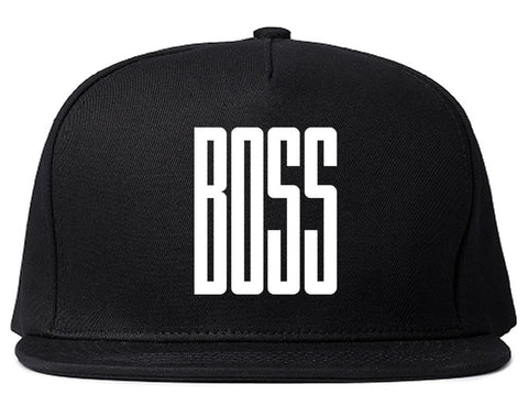 BOSS Long Printed Snapback Hat in Black by Kings Of NY