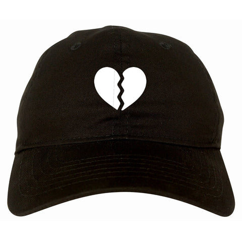 Broken Heart Dad Hat Cap by Kings Of NY