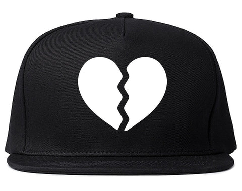 Broken Heart Snapback Hat by Kings Of NY – KINGS OF NY cf29be3da44