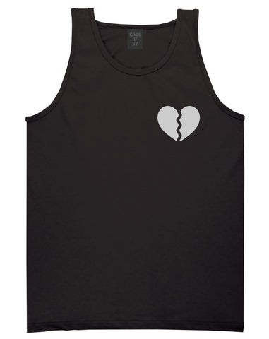 Broken Heart Tank Top by Kings Of NY