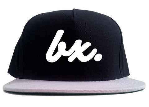 Bx The Bronx Script 2 Tone Snapback Hat By Kings Of NY