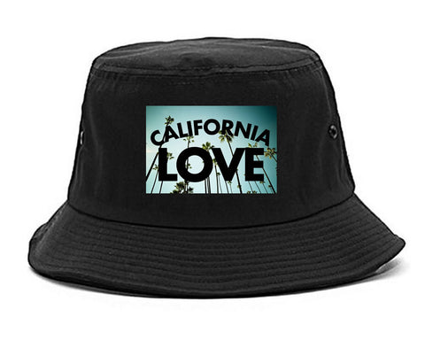 California Love Cali Palm Trees Bucket Hat By Kings Of NY