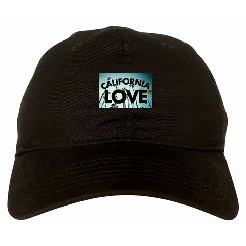California Love Cali Palm Trees Dad Hat By Kings Of NY