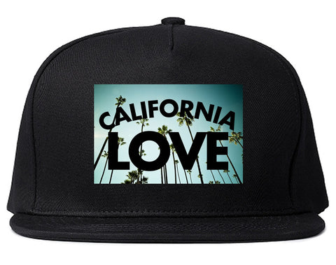 California Love Cali Palm Trees Snapback Hat By Kings Of NY