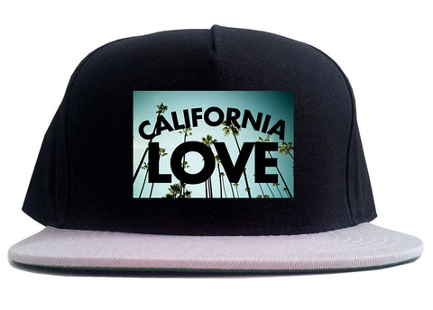 California Love Cali Palm Trees 2 Tone Snapback Hat By Kings Of NY