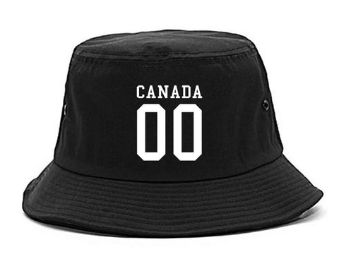 Canada Team 00 Jersey Bucket Hat By Kings Of NY