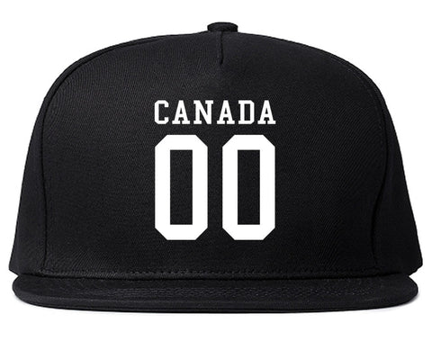 Canada Team 00 Jersey Snapback Hat By Kings Of NY