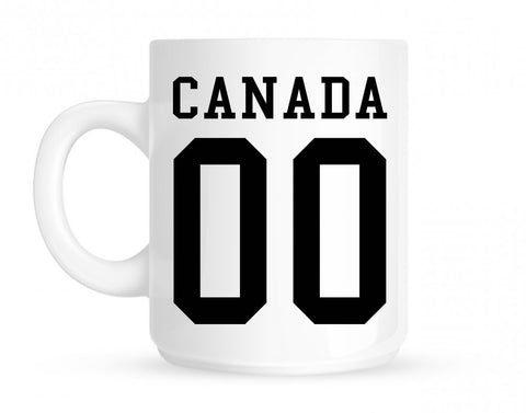 Canada Team 00 Jersey Mug By Kings Of NY
