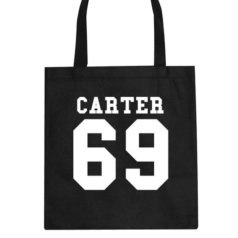 Carter 69 Team Jersey Tote Bag by Kings Of NY