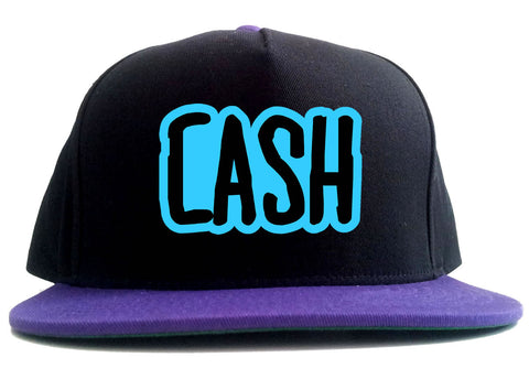 Cash Money Blue Style 2 Tone Snapback Hat By Kings Of NY