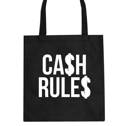 Cash Rules Tote Bag by Kings Of NY