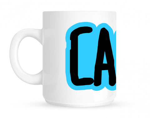Cash Money Blue Style Coffee Tea Mug By Kings Of NY