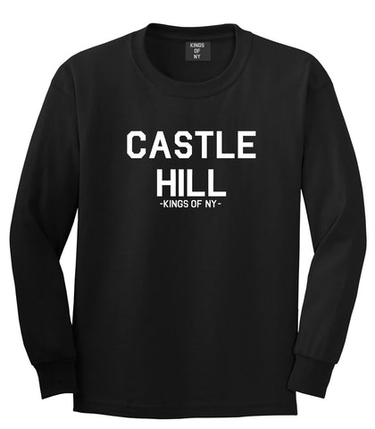 Castle Hill The Bronx Long Sleeve T-Shirt in Black
