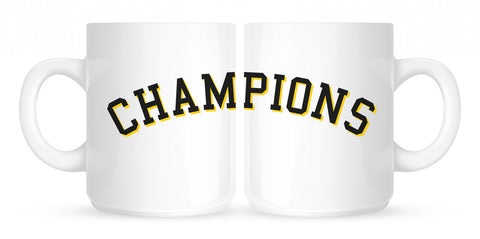 Champions Coffee Tea Mug in White by Kings Of NY