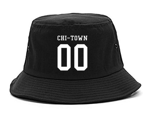 Chitown Team 00 Chicago Jersey Bucket Hat By Kings Of NY