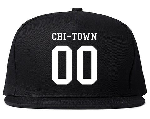 Chitown Team 00 Chicago Jersey Snapback Hat By Kings Of NY