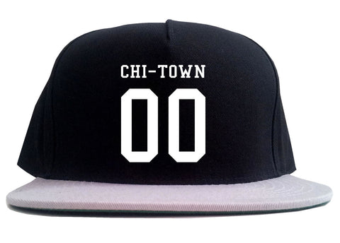 Chitown Team 00 Chicago Jersey 2 Tone Snapback Hat By Kings Of NY