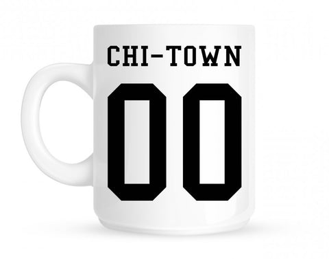 Chitown Team 00 Chicago Jersey Mug By Kings Of NY