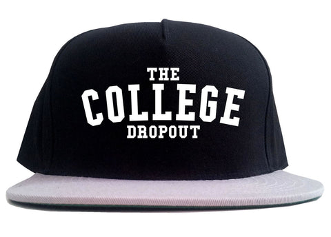 The College Dropout Album High School 2 Tone Snapback Hat By Kings Of NY