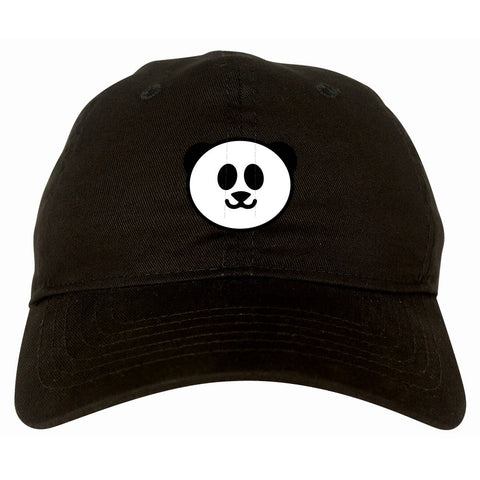 Cute Panda Chest Emoji Meme Dad Hat Cap