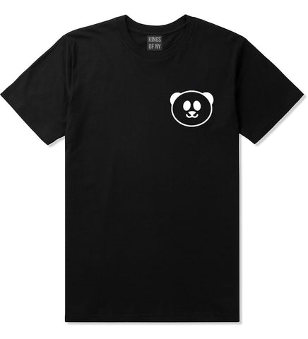 Cute Panda Chest Emoji Meme T-Shirt